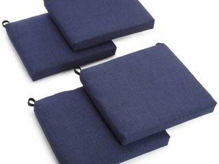 Blazing Needles 20 inch Indoor Outdoor Chair Cushion  Set of 4