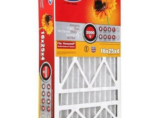 BestAir 3pk Honeywell 16X25X4 Replacement Air Furnace Filter