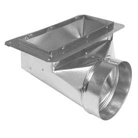IMPERIAl 4 in x 10 in Galvanized Duct
