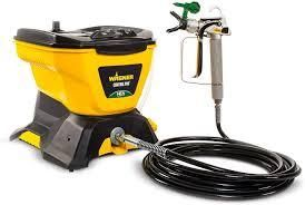 Wagner Control Pro 130 Power Tank Paint Sprayer  High Efficiency Airless with low Overspray