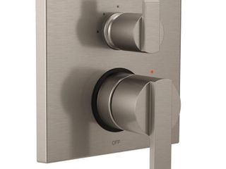 Delta Ara Angular Modern Monitor 14 Series Valve Trim with 3 Setting Integrated Diverter in Stainless T24867 SS