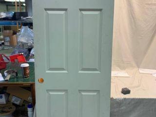 Wood Door   White