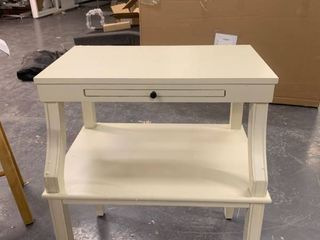 Ivory Two Tier Desk