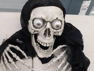 led Skeleton Groundbreaker Halloween Decoration   Home Decor   1 Piece