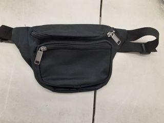 Fanny pack Black 3 pockets