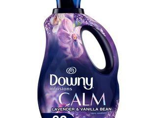 Downy Infusions liquid Fabric Softener  Calm  lavender   Vanilla Bean  56 fl oz