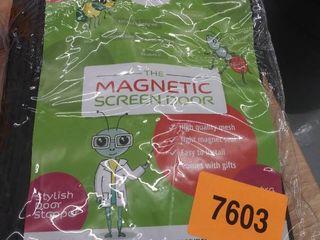 magnetic screen door 39 x82