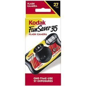 Kodak Fun Saver 35Mm Single Use Camera With Flash   1 Ea