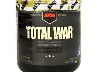 1 Redcon1 Total War 30 Serving Pre Workout Sour Gummy Bear