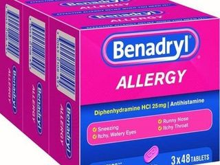 Benadryl Allergy Ultra Tablets  144 Ct