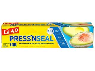 Glad Press N Seal   Plastic Food Wrap   100 sq ft
