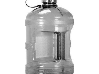 1 Gallon  128oz  BPA Free Reusable Drinking Bottle w 48mm Steel Cap