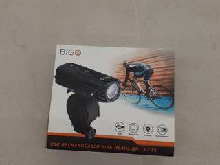 USB Rechargeable Bike Headlight YT T6