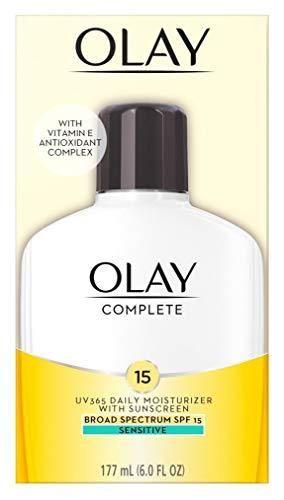 OlAY Complete UV Daily Moisturizer SPF 15  Sensitive Skin 6 oz  Pack of 3