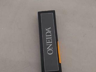 oneida set of 4 teaspoons  silver