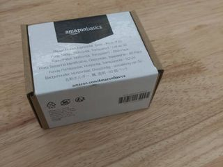 Amazonbasics Clear Transparent Badge Holder Horizontal  3 Pack Of 50   150