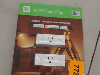 Belkin Wemo Smart Plug Mini  1 pack