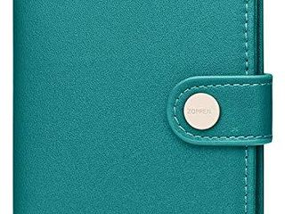 Zoppen Passport Cover Rfid Blocking Travel Passport Wallet Slim Id Card Case  25 Teal Green