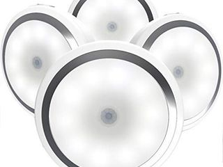 Motion Sensor light  Magictec Cordless Battery Powered lED Night light  4 Pack