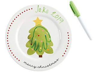 Christmas Hand Print Plate