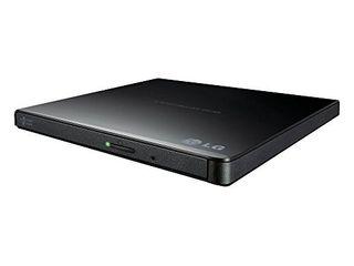 The Excellent Quality Ext 8X Slim USB DVDRW Black