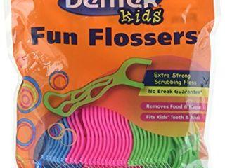 DenTek Kids Fun Flosser Floss Picks 75 ea  Pack of 6