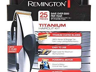 Remington HC 822 25 Piece Trim Expert Hair Clipper Set