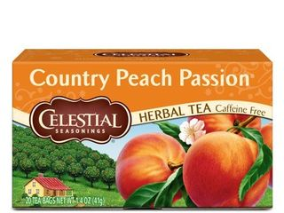 CElESTIAl SEASONINGS  HERBAl TEA  COUNTRY PEACH PASSION
