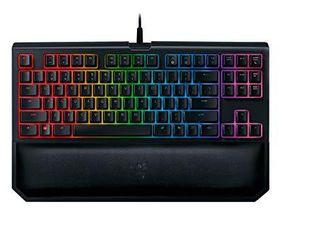 Razer Blackwidow Tournament Edition Chroma V2 Mechanical Gaming Keyboard   Us layout Frml  Orange Switch