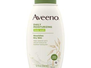Aveeno Daily Moisturizing Body Wash  12 Ounce