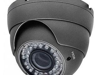 Acelevel 1 3MP HD TVI Camera with 2 8 12mm Vari Focal lens  Dark Gray Color