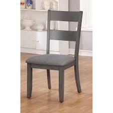 Furniture of America Sine Transitional Fabric Side Chairs  Set of 2