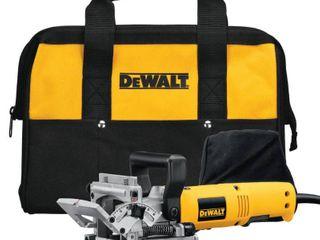 DEWAlT 6 5 Amp Biscuit Joiner with Dust Bag