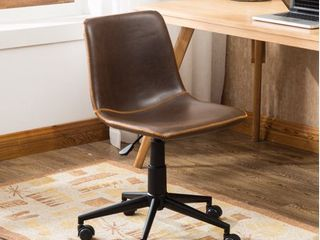 Cesena Faux leather 360 Swivel Air lift Office Chair  Retail 79 98