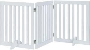 Unipaws Freestanding Wire Pet Gate with Door and 4 Support Feet Retail 200 99
