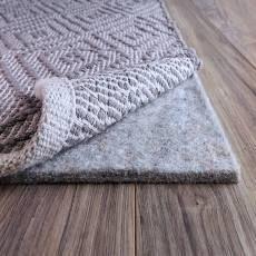 FiberSoft Extra Thick 100 percent Felt Rug Pad for All Floors   Grey  Retail 87 99