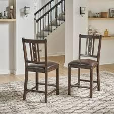 Simply Solid Solana Solid Wood Counter Stool