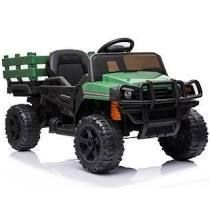 Green  OFF Road Vehicle Electric Kids Ride On Car 12v with Remote Control Retail 202 49