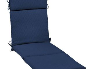 Arden Selections DriWeave Sapphire leala Outdoor Chaise Cushion   72 in l x 21 in W x 4 in H   Retail 93 49