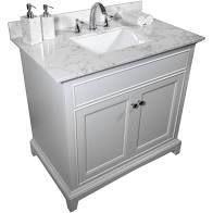 TiramisuBest 43 x22 bathroom vanity tops with sink and back splash  Retail 464 99