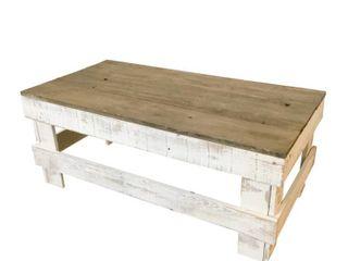 Handmade Del Hutson Designs Barnwood Coffee Table  Retail 129 99