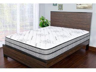 Sleep Therapy Signature Medium Firm Euro Top Qulited Mattress  Full  Retail 289 99