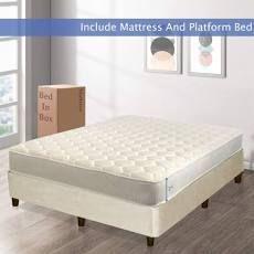 7 Inch Medium Firm High Density Poly Foam Mattress Full