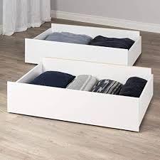 Prepac Select Storage Drawers on Wheels