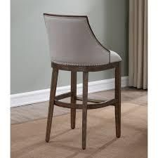 Glenview Beige Stationary Bar Stool by Greyson living