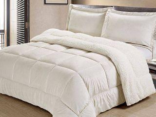 Cathay Home  Inc Baffle Box Comforter Set FUll