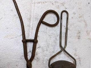 Antique Roller   8  Forceps