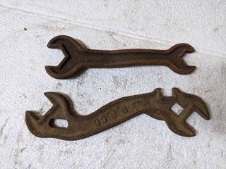 2  Vintage Wrenches