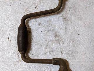 Antique Hand Crank Wrench