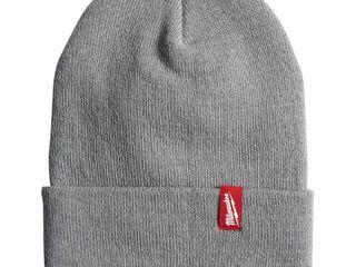 Milwaukee Men s Gray Acrylic Cuffed Beanie Hat  Grays